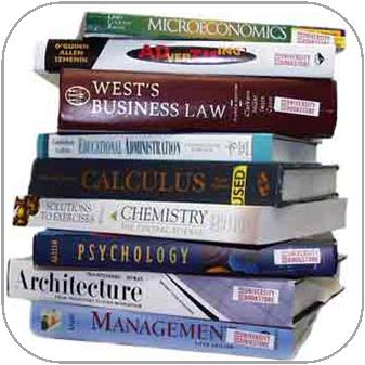 This image of stacked books is a link that leads to the page on requesting accessible print materials.