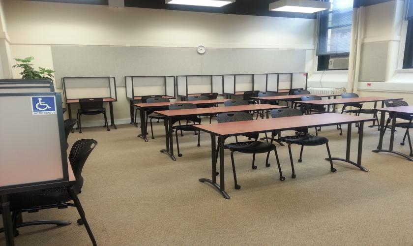 Student Access Services Testing Center Photo