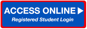 "Icon that reads ""Access Online: Registered Student Login."" Clickable link leading to Access Online."